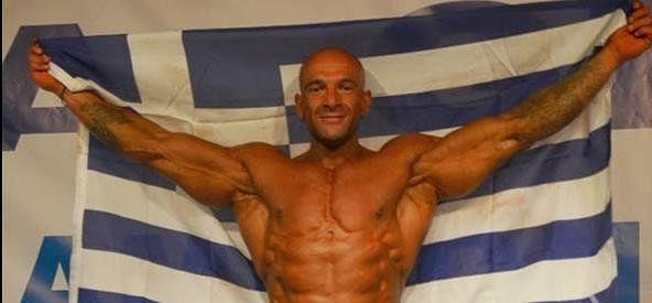 Greek Bodybuilder Giannis Magos Slapped Judge in Protest