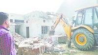 administration, demorlise, illigal houses, kaithal