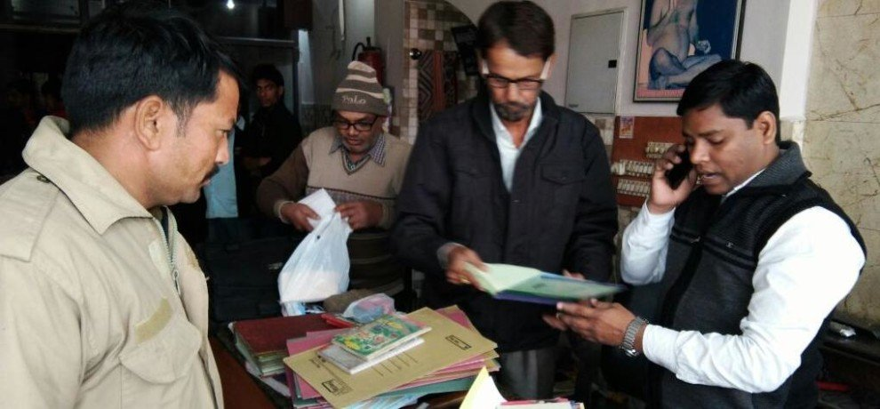 income tax search raid in dehradun