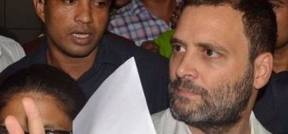 FIR lodge over Rahul Gandhi and congress twitter accounts hack