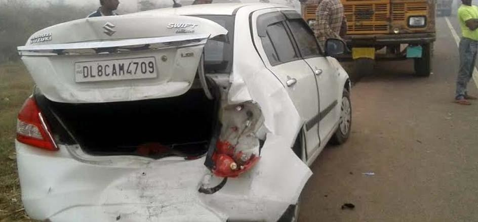 Two people died in road accidents