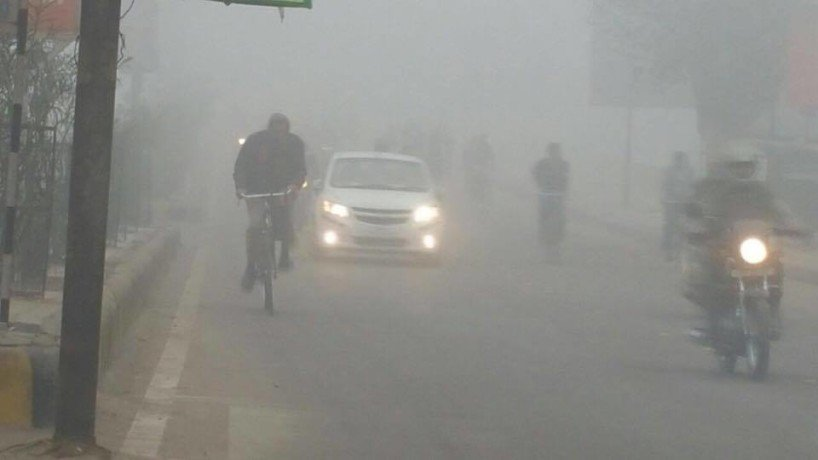 second day havy fog in central up