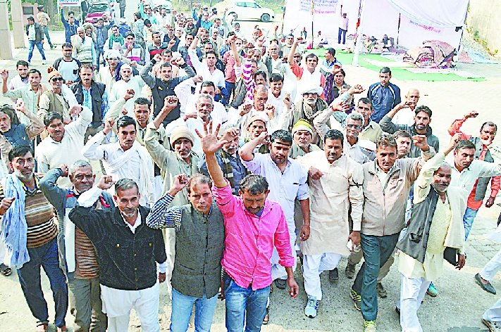 Black blindfold farmers demanded payment