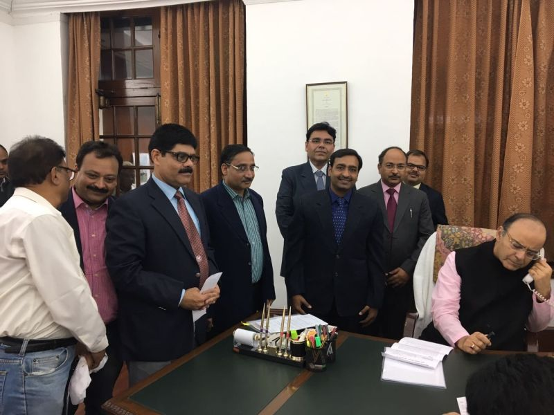 CA delegation sujested to finance minister