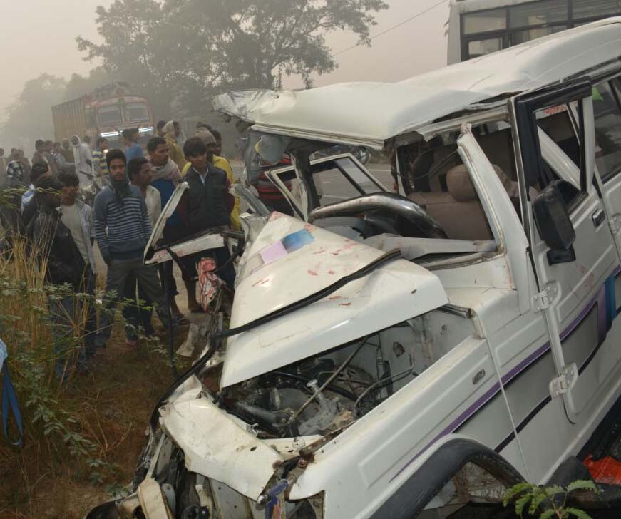 Fog havoc: Three killed in accident
