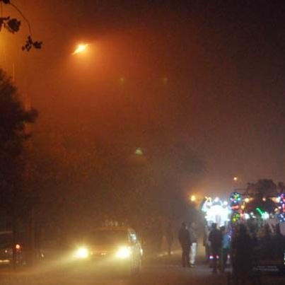 fog in kanpur