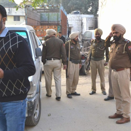 punjab police search campaign for terrorist in roorkee.