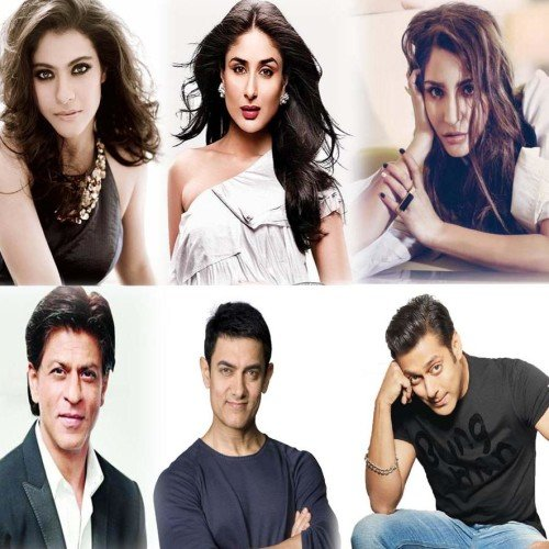 These actresses got lucky working with three Khans
