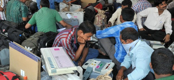 16 seats in the elections to the panchayats will