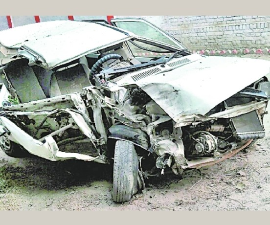 two died in an accident in gonda.