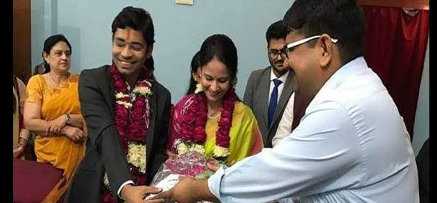 The marriage of the two IAS officers Rs.500