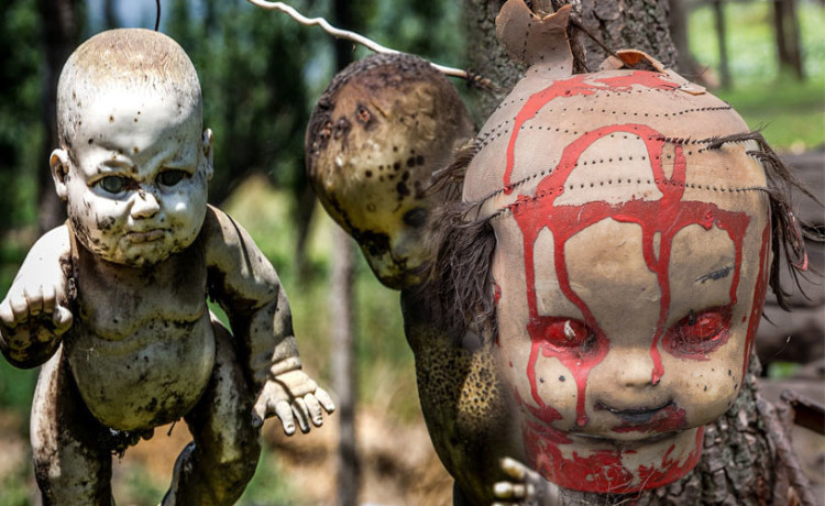 Mexico's island of dolls creepiest place on earth