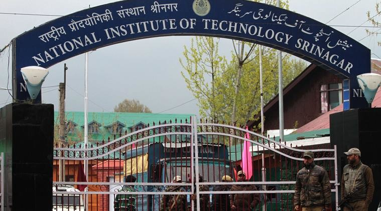 classes resumed in NIT Srinagar