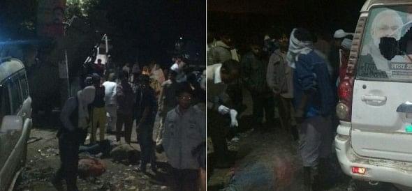 scorpio hits 6 people sleeping on road in balrampur