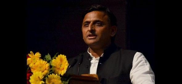 cm akhilesh yadav adresses in up police week