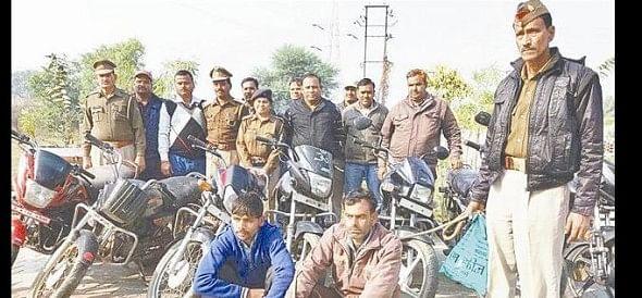 RC Bikes stolen by fraudulent seller gang arrested