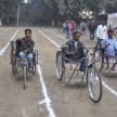 Physical handicapped children shows their excelence