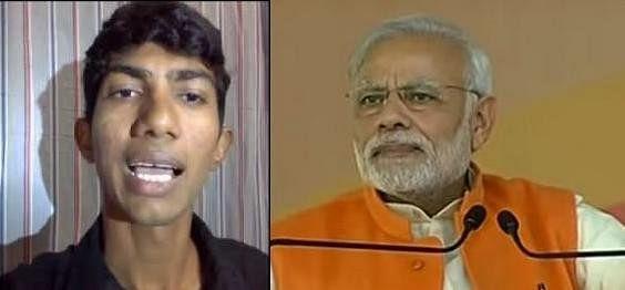 shyam rangeela viral video prime minister narendra modi