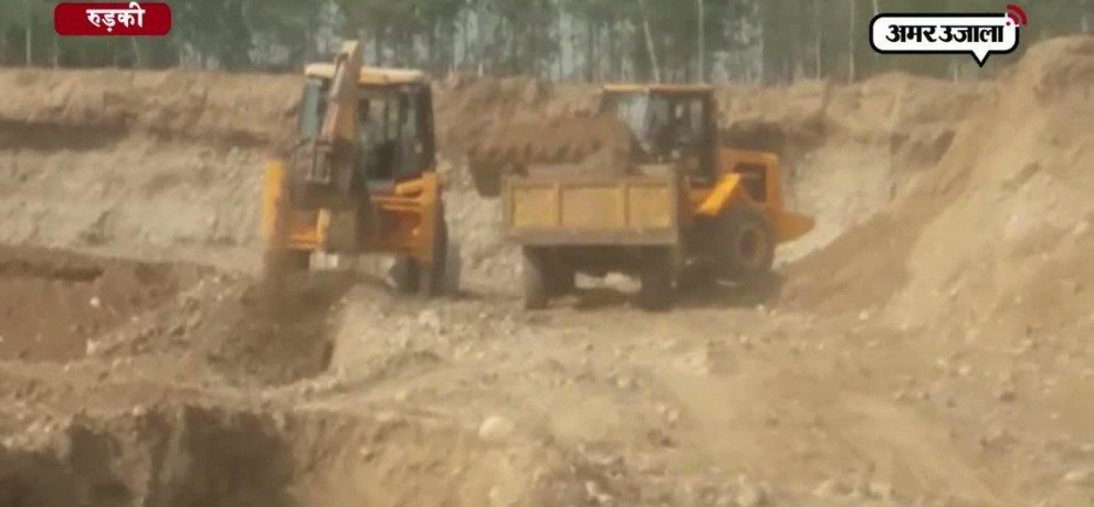Illegal mining in roorkee