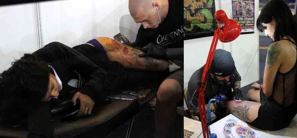 tattoo fest in delhi and craze in youth for it