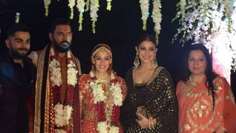 Virat-Anushka danced at Yuvraj-Hazel goa wedding
