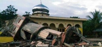 earthquake in Aceh province Indonesia
