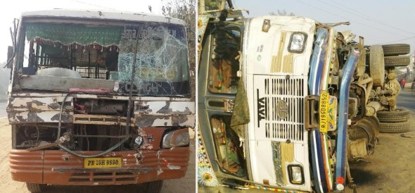 punjab accident, 5 death in one day, ludhiana accident