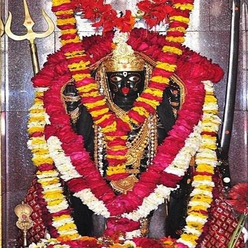 amazing kali mata in temple