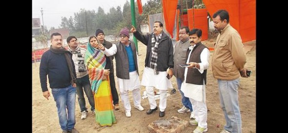 Changes BJP rally today, preparations complete