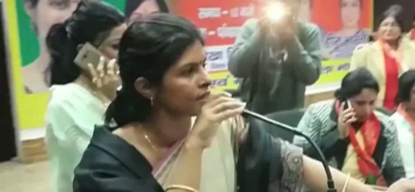देखिए तीन तलाक पर क्या बोल गईं बीजेपी की धाकड़ नेता स्वाति सिंह!