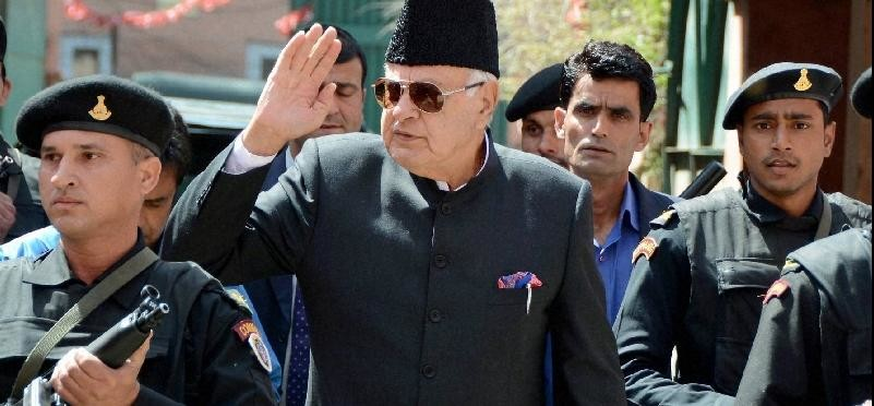farookh abdullah files nomination from Srinagar