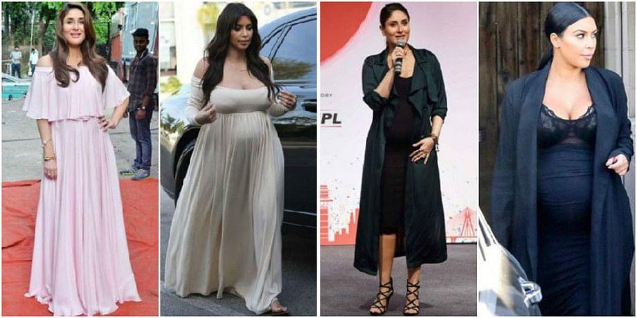 Kareena Kapoor's pregnancy outfits are heavily inspired by Kim Kardashian