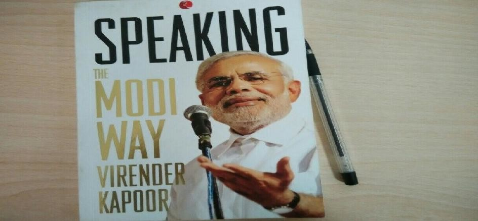 Book review speaking the modi way by Virender Kapoor