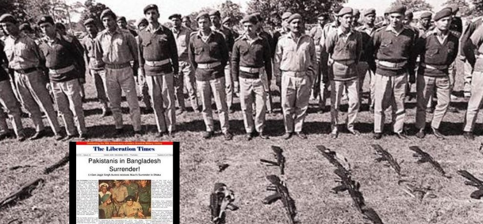 16 December 1971 Was The Date When Pakistani Army Surrenders Against