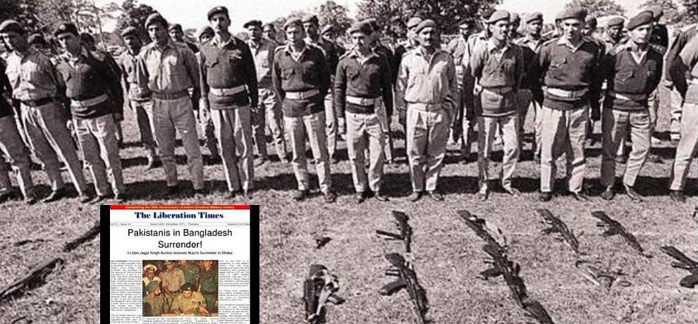 Pakistani Army Surrenders In 1971 War Hindi News, Pakistani