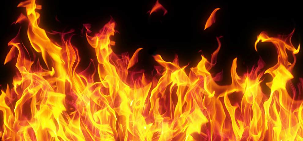 textile industry gutted in fire at Baddi Solan