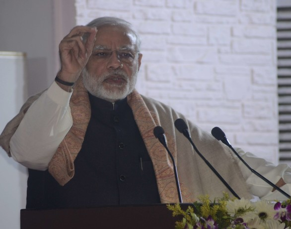Black with black money came to mind : Prime minister