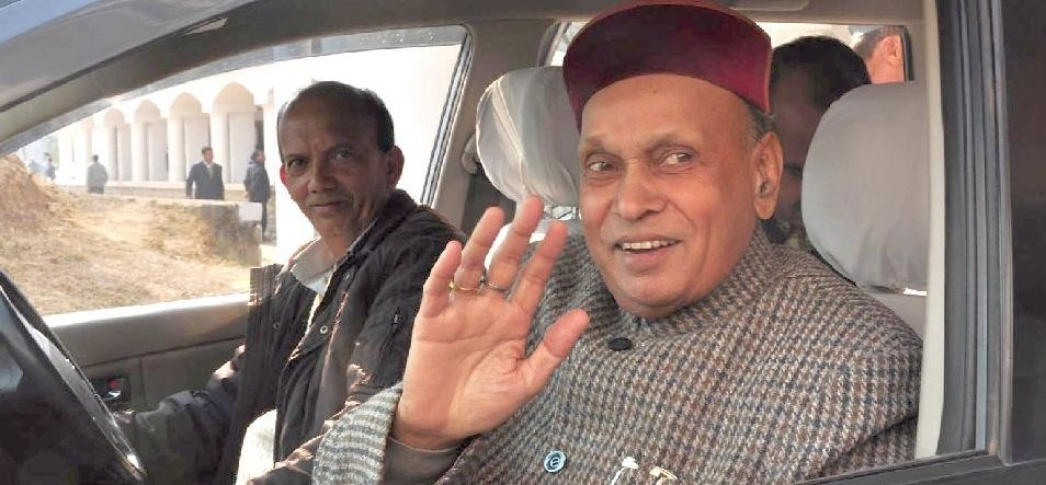 Prem Kumar Dhumal Reaction on Congress Mission Repeat Statement.