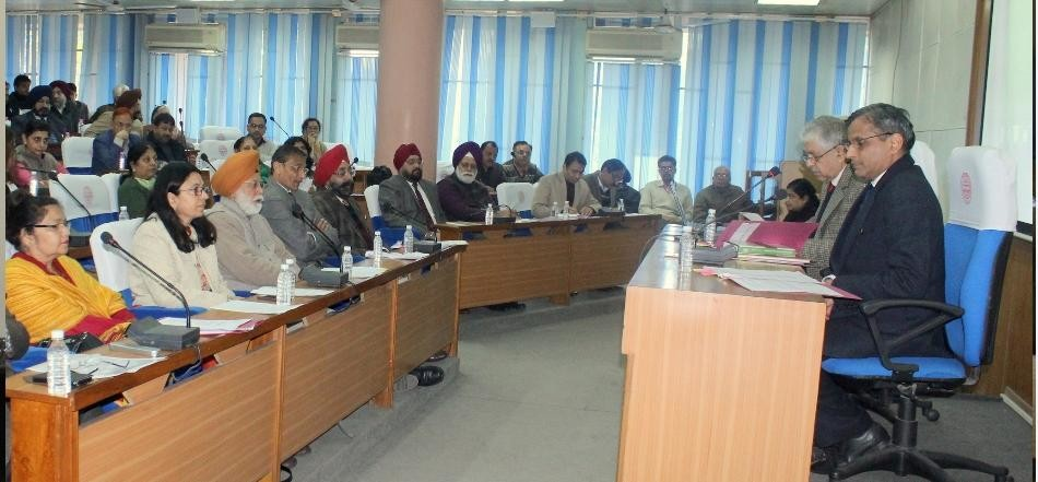 Efforts to ensure permanent solution to financial crisis, pu chandigarh