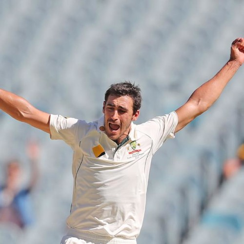 mitchell starc on a hattrick row before ashes series