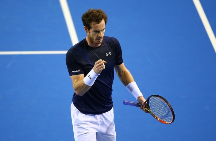 abdy murry has shown success returning review against federer at glasgow