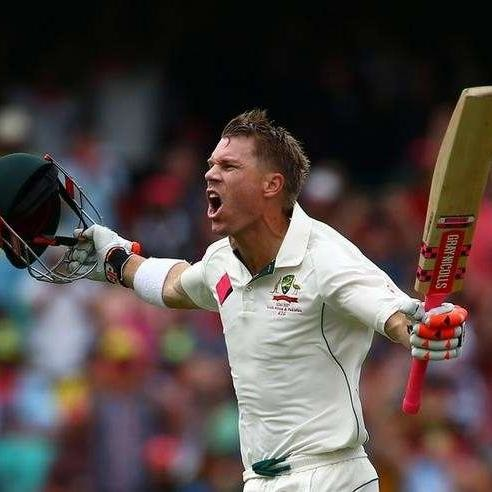 David Warner Smashes Century in 1st Session of Day 1 in Sydney