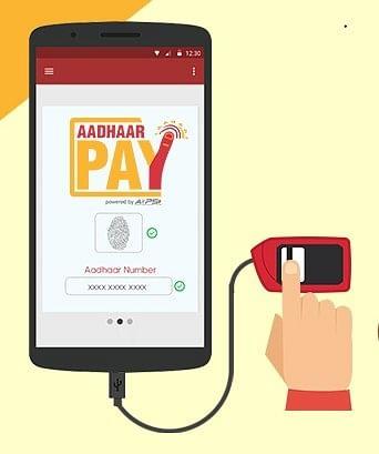 Image result for aadhaar-pay-app