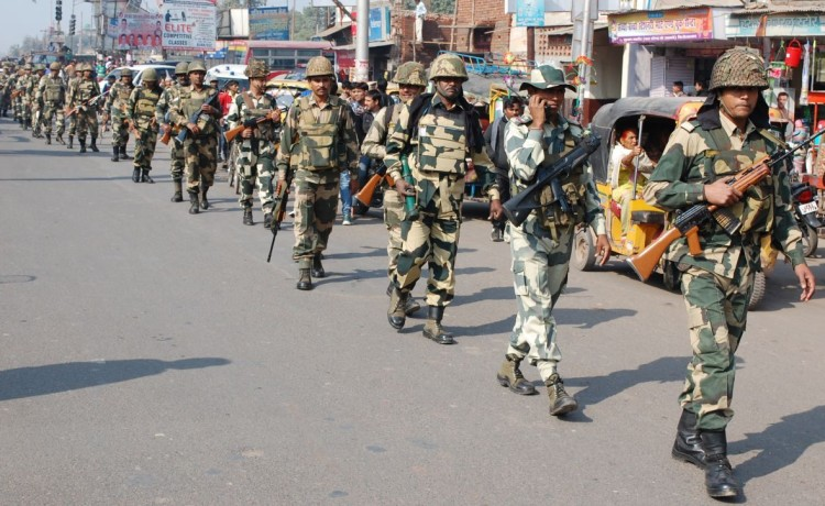 twenty thousands jawans deployed in jammu kashmir for panchayat election security