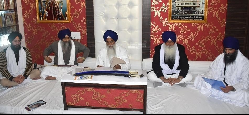 shri akal takht major decisions about role of panj pyare in movies and shooting in gurudwara