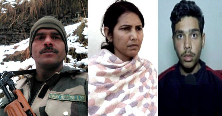 tej bahadur's wife meet to central minister on food facilities for bsf