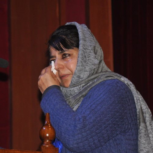 Mehbooba Mufti passionate in book release function
