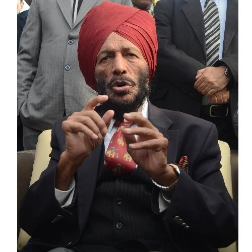 Milkha singh in Lucknow.