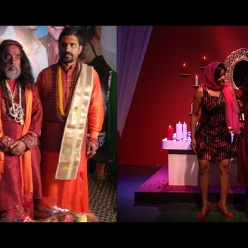 swami om baba accuses bigg boss not giving him info about girls in show