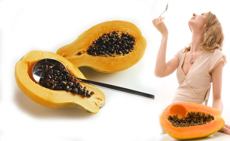Image result for papaya seeds benefits for health